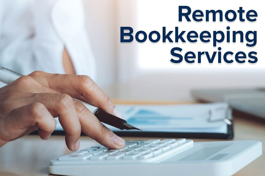 Remote bookkeeping services in